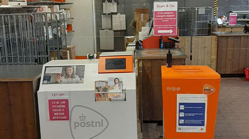 Postkantoor en pakketpunt